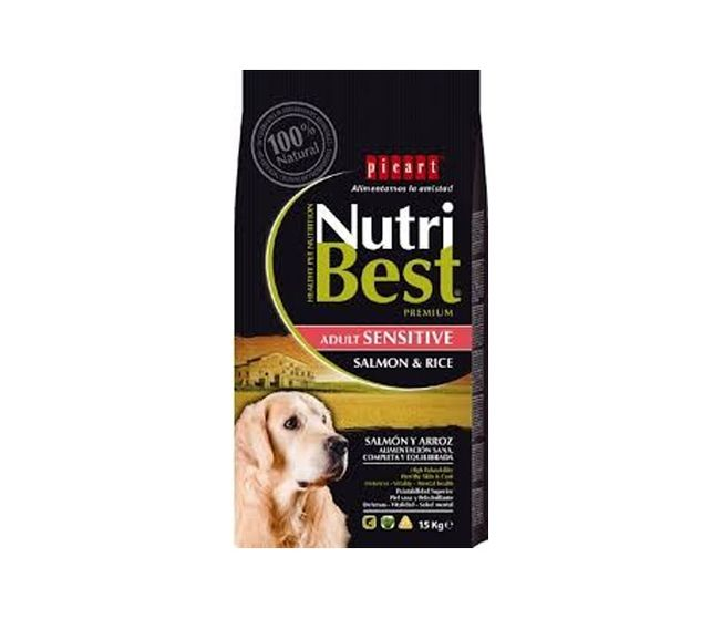 PICART NUTRIBEST SENSITIVE SALMON&RICE 15 KG